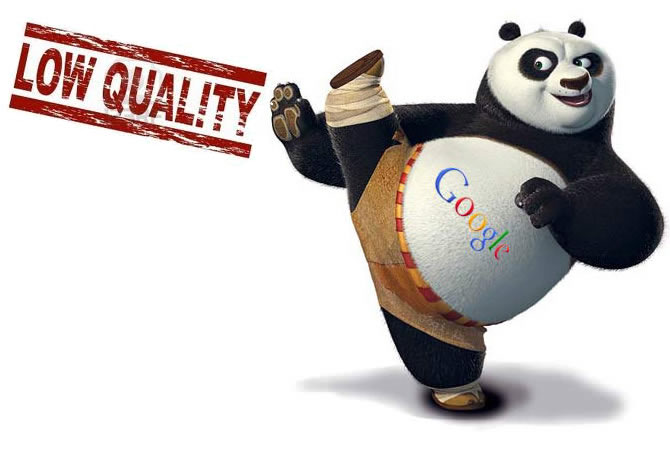 Google Panda & Low Quality Content