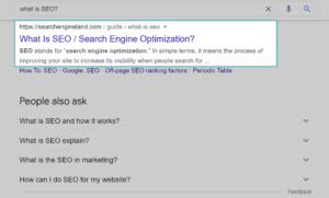 Exact Keyword in the URL