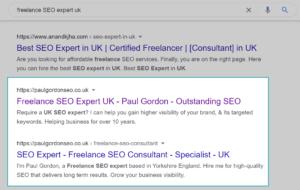 Freelance SEO Expert UK