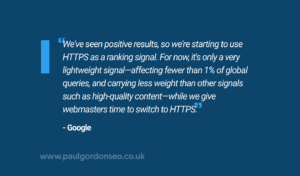 Use HTTPS on Your Website